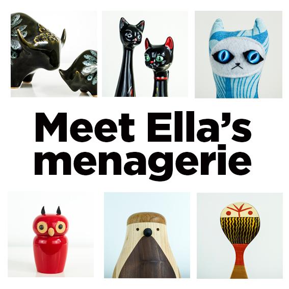 Meet Ella's Menagerie