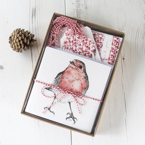 Christmas Stationery Ella Johnston Art and illustration. ellasplace.co.uk