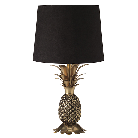 Zeus Lamp £80 House of Fraser Pineapple Trend ellasplace.co.uk