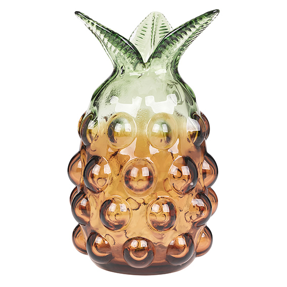 Glass vase, £20 BHS, Pineapple Trend ellasplace.co.uk