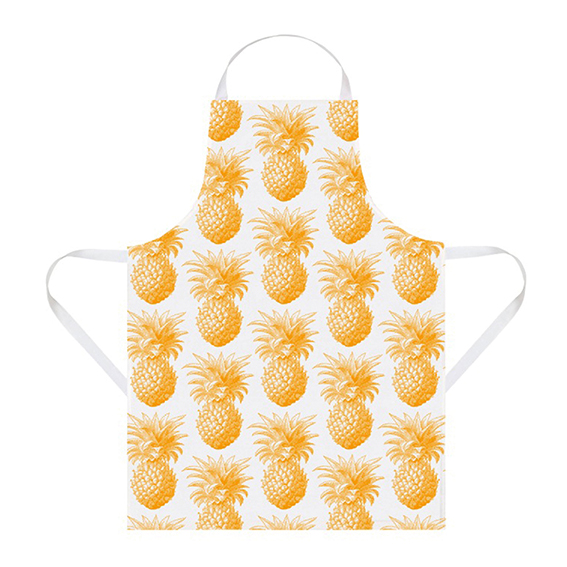 Pineapple apron, £24.95. Thornback and Peel. Pineapple trend ellasplace.co.uk