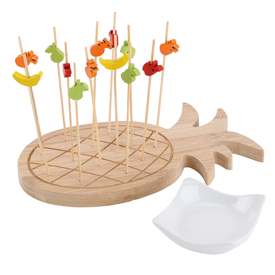 Pineapple Fruit Platter, £12.75. The Contemporary Home. Pineapple Trend ellasplace.co.uk