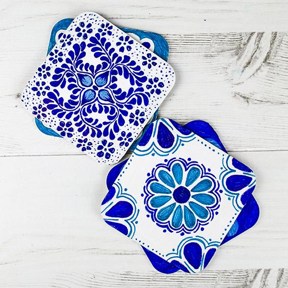 Mexican Coasters (c) Ella Johnston ellasplace.co.uk