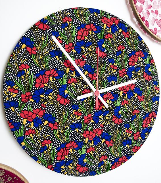Liberty print clocks ellasplace.co.uk