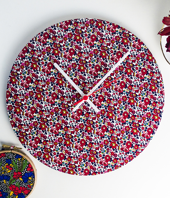 Liberty print clocks ellasplace.co.uk