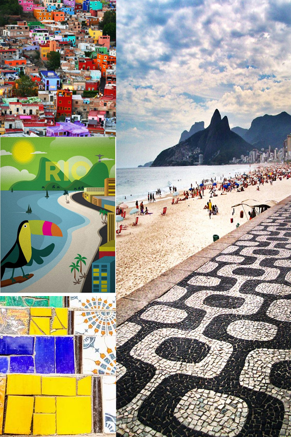 Rio! Monday Moodboard ellasplace.co.uk