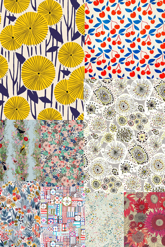 Pattern Monday Moodboard Ella Johnston