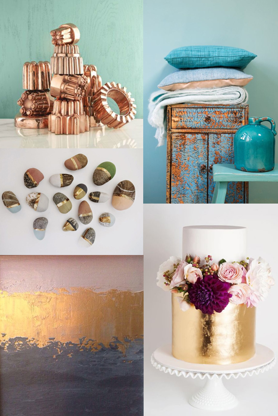 Monday moodboard: Metallics Ella Johnston ellasplace.co.uk