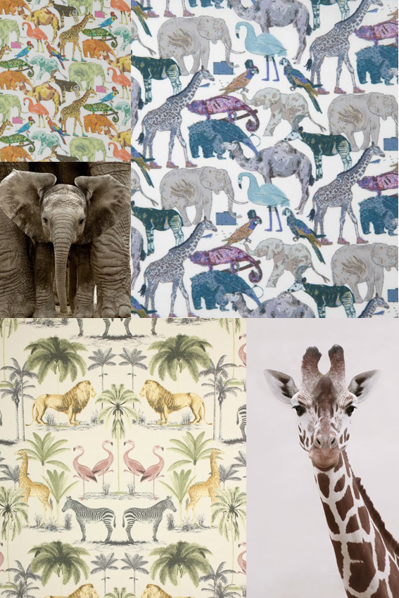 Monday Moodboard Zoo Animals