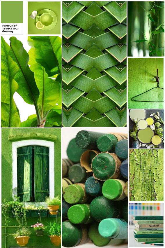 Greenery Moodboard
