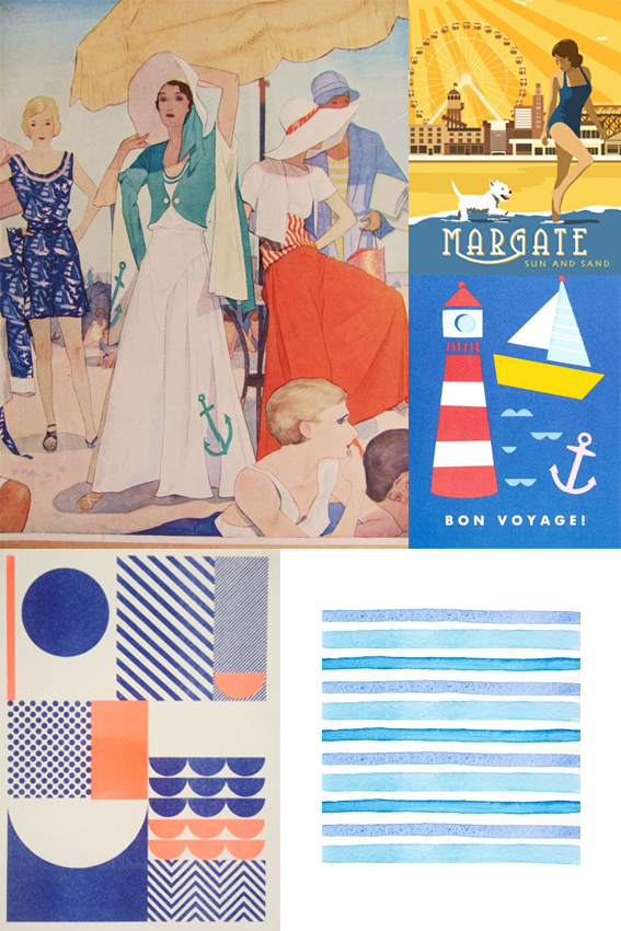 Monday Moodboard Beach vibes