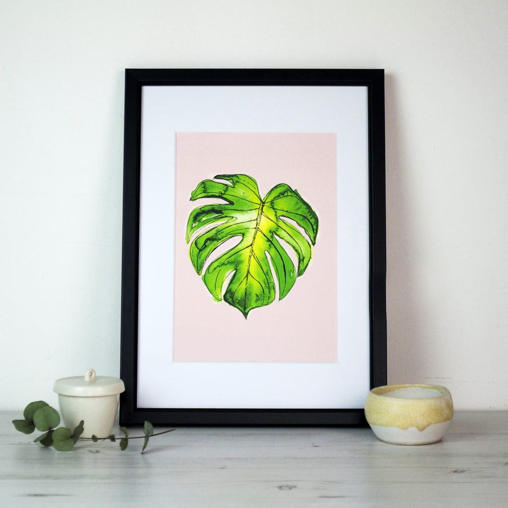 Leaf print Ella Johnston Not On The High Street