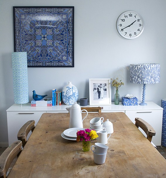 Dining room lamp project for Dannells. Project, words, art direction and photography by Ella Johnston