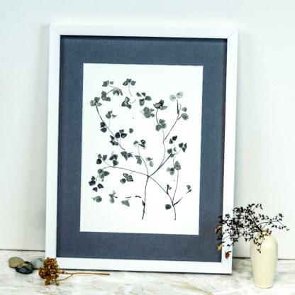Tree blossom ink drawing print, Ella Johnston