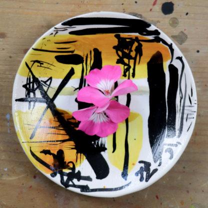 Hand-painted trinket dish, ella johnston
