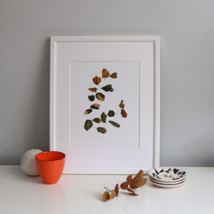 Turning leaves, fine art print Ella Johnston