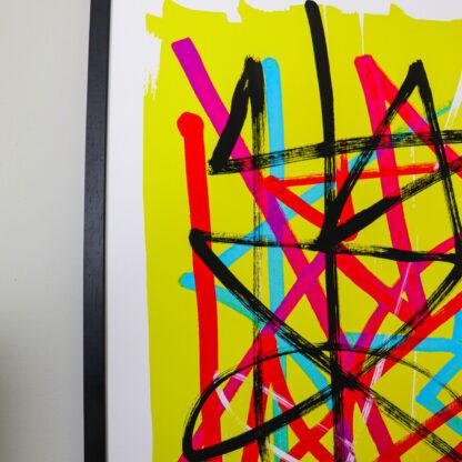 Pomes Flixus fine art print, Ella Johnston