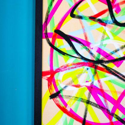 Flixus collision I, A2 fine art giclée print