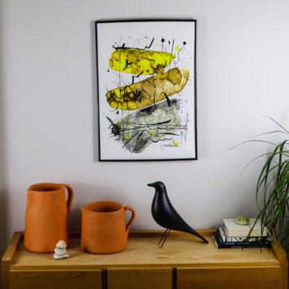 Earth Meditation III, Giclee Fine Art Print, Ella Johnston