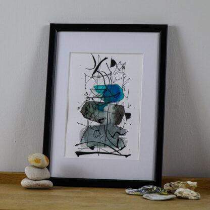 Water Meditation, ink on paper. Ella Johnston