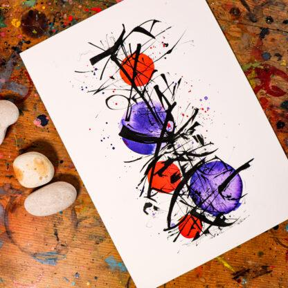 A4 fine art giclee print