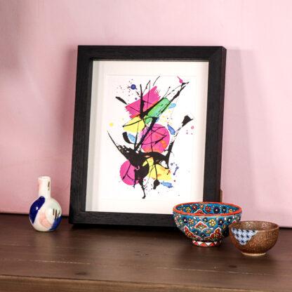 Colourful art work
