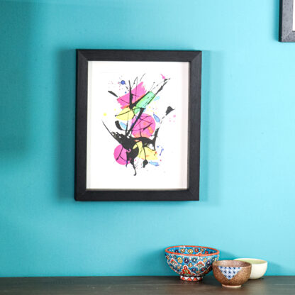 Colourful limited edition print